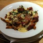 Pork belly poutine