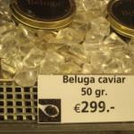 Caviar taster