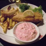 Fish and chips (with an amazing homemade bonito flake tartar sauce)