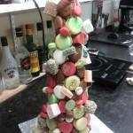 Fantasy macaron tower