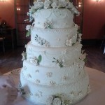 150 serving wedding cake