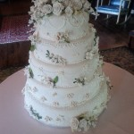 Wedding cake for 150