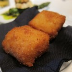Spicy shrimp croquettes