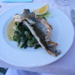 Sea bream with braised kale - Dubrovnik