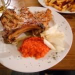 Pork Chops at Rafaelo's - Zadar