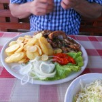 Mixed grill - with spoiled meat - Split