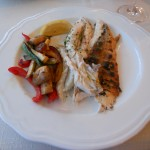 Grilled sea bream, Split