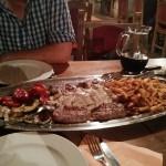 Meat Platter for 2 at Rafaelo's in Zadar
