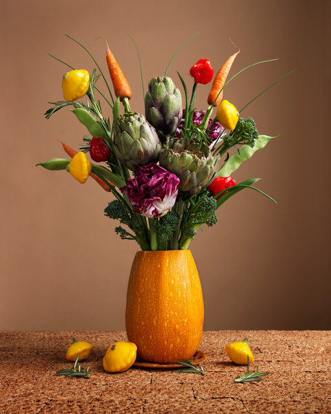 Vegetable Food Vase