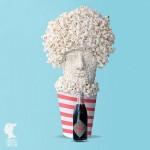 Popcorn head