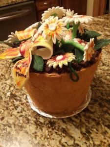 Flower pot cake (1)