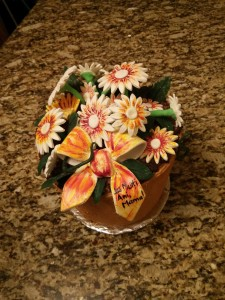 Flower pot cake (2)
