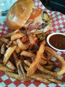 O&B Canteen Burger