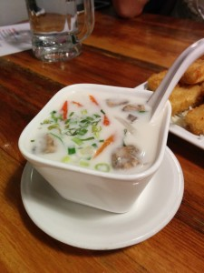 Hot Coconut Soup