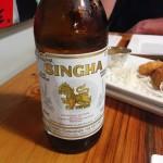 Singha beer - Thai import