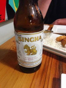 Singha beer - Thai import