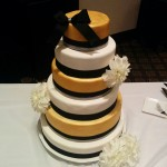 Wedding cake for 225